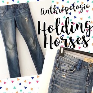 •Anthropologie•Holding Horses Paint Splatter Jeans